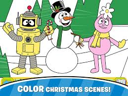 yo gabba gabba christmas app by cupcake digital the shady lane
