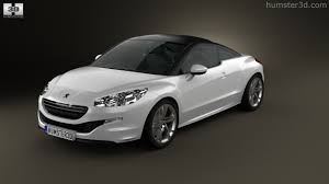 peugeot coupe rcz 360 view of peugeot rcz coupe 2013 3d model hum3d store