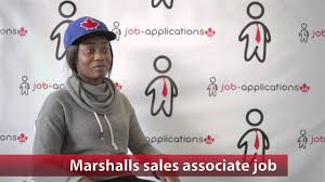 Job Application Tj Maxx Marshalls Sales Associate Job Youtube