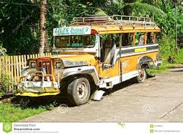 jeepney philippines art jeepney on a rural road editorial stock photo image 29967438