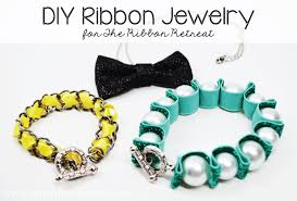 make ribbon necklace images Diy ribbon jewelry artsy fartsy mama jpg
