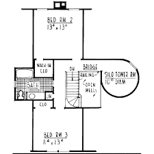 Sand Creek Post And Beam Floor Plans by Barn House With Silo Plan 302 162 Houseplans Com When We Build