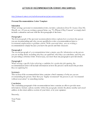 awesome collection of letter of recommendation sample for staff