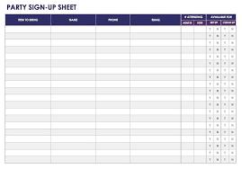 signup sheets sign up sheets potluck sign up sheet sign up