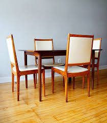 Danish Dining Table Str8mcm Danish Dining Table And Chairs