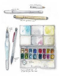 best 25 watercolor sketch ideas on pinterest watercolor art