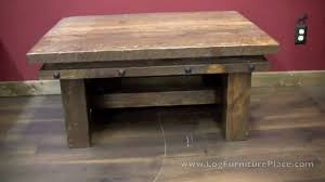 Barnwood Coffee Table Lonestar Rustic Barnwood Coffee Table With Nailhead Trim From