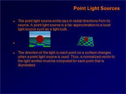 csc418 computer graphics n illumination n lights n lightinging