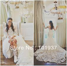 Chapel Train Wedding Dresses De Noiva New Superb Mermaid High Collar Beaded Waist Chapel Train