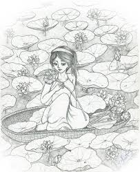 lotus pond by neraong on deviantart