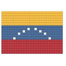 South America Flags Flag Of Venezuela Pixel Art U2013 Brik