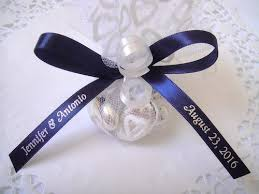 personalized ribbon for wedding favors how much ribbon do i need
