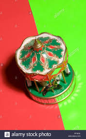 merry go ornament on green stock photo royalty free