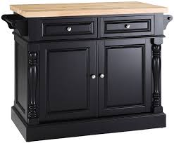 Crosley Furniture Kitchen Cart Amazon Com Crosley Furniture Kitchen Island With Butcher Block
