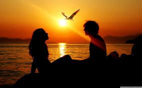 wallpaper of couple romantic couple sunset 4k hd desktop wallpaper for 4k ultra hd tv