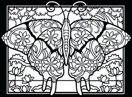 coloring pages free butterfly coloring pages free simple