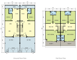 double storey floor plans cycas phase 3 parcel 2 huayang your dreams made affordable