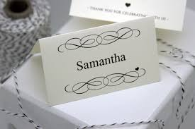wedding place cards template free diy printable place card template and tutorial polka dot