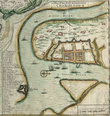 colonial map the crisp map of 1711 rediscovering charleston s colonial