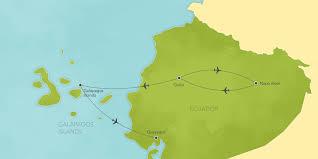 Galapagos Map Ecuador U0026 Galapagos Islands Quito Yasuni National Park Santa