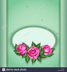 romantic floral background pink roses flowers vector eps10 gift