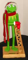 kurt adler halloween sold kermit the frog christmas lot wooden nutcracker squeeze toy