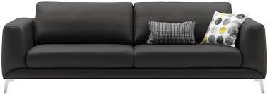 bo concept canapé canapé d angle modulable contemporain en cuir fargo by