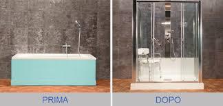 trasformare una doccia in vasca da bagno servizio di sostituzione della vasca con doccia di prontodoccia