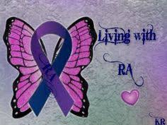 ra ribbon rheumatoid arthritis awareness ribbon ra ribbon living with