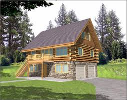 log cabin house plans one story 2 story log home plans swawou
