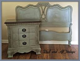 Bedroom Before And After Painting Chalk Paint Wax Bedroom Decor On Broyhill Furniture And What To Do