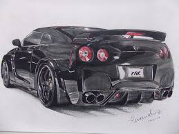nissan skyline drawing 2 fast 2 furious gtrr35 explore gtrr35 on deviantart