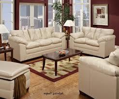 Simmons Leather Sofa Simmons 6569 Sebring Taupe Leather Sofa Room Chair Ottoman