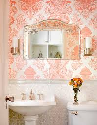powder rooms with wallpaper yes you can go bold with wallpaper in a powder room