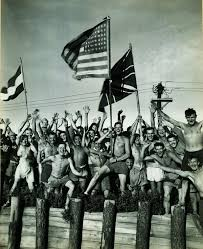 Ww2 Allied Flags Victory Americans Everywhere Celebrated The End Of World War Ii
