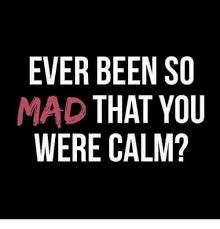 So Mad Meme - ever been so mad that you were calm meme on me me
