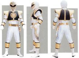 White Ranger Halloween Costume Green Ranger White Ranger Sentairider
