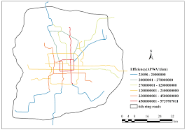 Beijing Subway Map by Accessibility And The Evaluation Of Investments On The Beijing