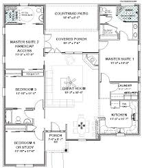 double master suite house plans goodman handicap accessible home full bath house and bath