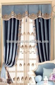 Curtains Valances Styles Interior Grandeur Classic Elegant French Provence Style Light Blue