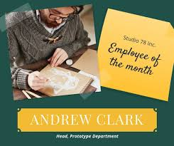 green employee of the month facebook post templates by canva