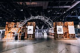 Air Force One Installation Nike Air Force 1 Booth Complexcon Complex