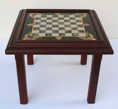 Chess Table English Low Table With Chess Board Top For Sale At 1stdibs