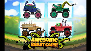 monster truck car racing games awesome beast cars racing insane monster truck racing best