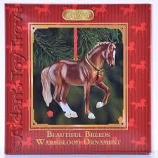 beautiful breeds warmblood ornament 2014 christmas holiday nib