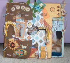 cat photo album 592 best scrapbooking chats images on cat sketch