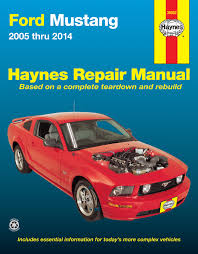 ford mustang 05 14 haynes repair manual haynes manuals