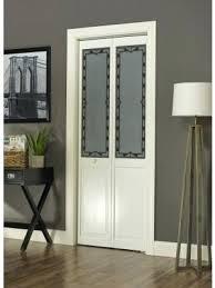 Pine Bifold Closet Doors Bifold Closet Door Marginal Half Glass Doors Pine 1 1 8 Thick