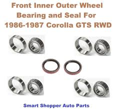 lexus is300 wheel bearing front inner outer wheel bearing race and seal for toyota corolla