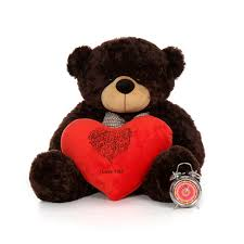 big teddy bears for valentines day 3 foot happy s day i you teddy plush heart